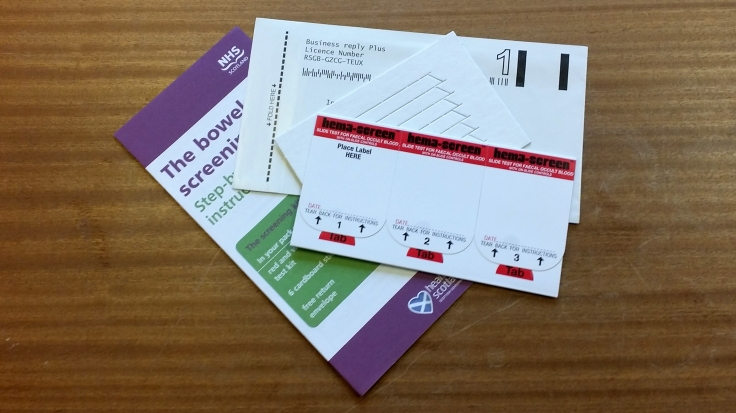 The traditional gFOBT test requires three samples as opposed to one