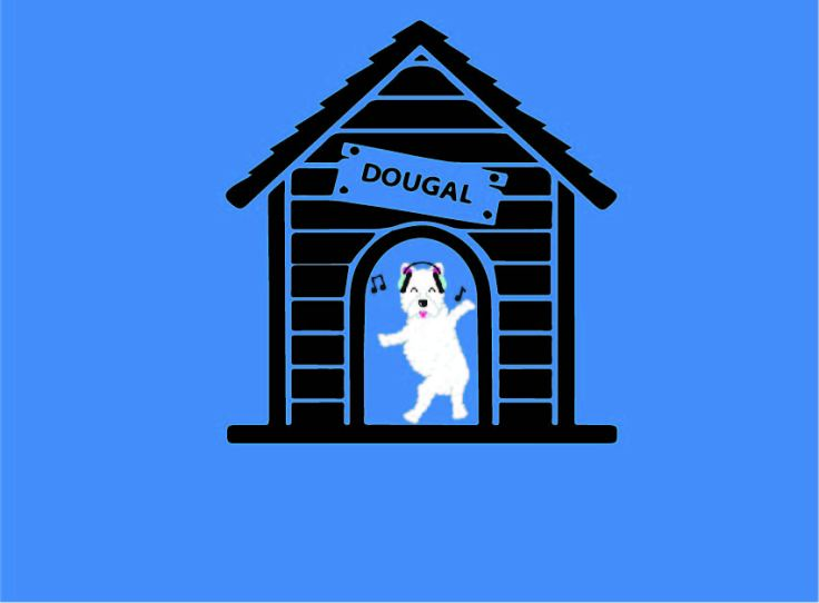 DOUGAL DANCE IN KENNEL